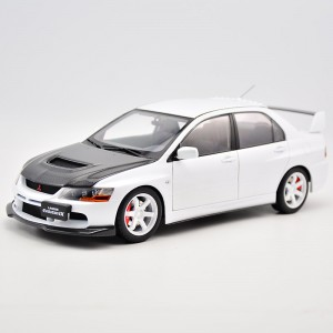 Super A 1:18 mitsubishi EVO9 alloy fully open global limit of 250 sets of white carbon fiber covers