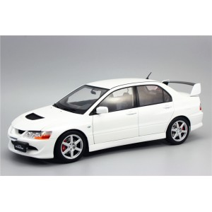 Super A 1:18 Mitsubishi EVO 8 Generation Lancer Alloy Full Drive Car Model White