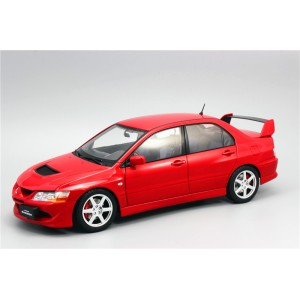 Super A 1:18 Mitsubishi EVO 8 Generation Lancer Alloy Full Drive Car Model Red