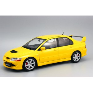 Super A 1:18 Mitsubishi EVO 8 Generation Lancer alloy full-drive car model  yellow