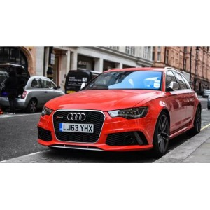 Super A 1:18 audi RS6 2017  RED